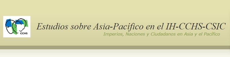 Estudios sobre Asia-Pacífico en el IH-CCHS-CSIC