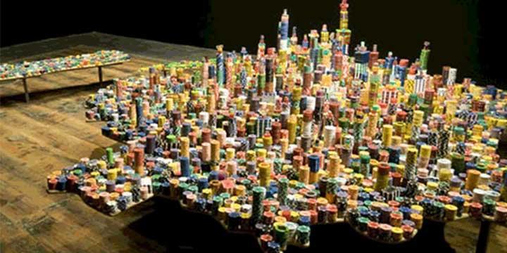 """Liu Jianhua, """"Escena irreal"""", 2008"""