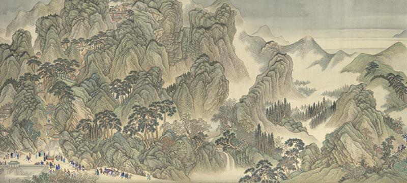 The Kangxi Emperor's Southern Inspection Tou