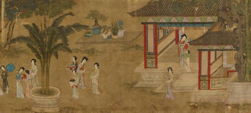 historia del arte chino: Spring Morning in Han Palace