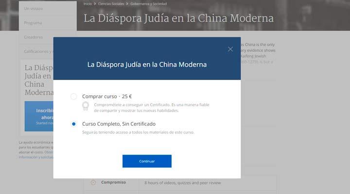 La Diáspora Judía en la China Moderna
