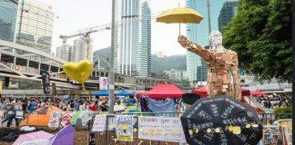 Protestas en Hong-Kong-
