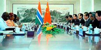 Gambia: mensajes desde Beijing