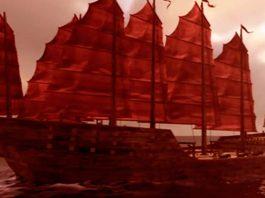 Los barcos chinos de la antigüedad